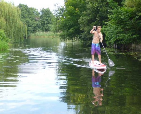 Stand Up Paddling Tour Ketzin