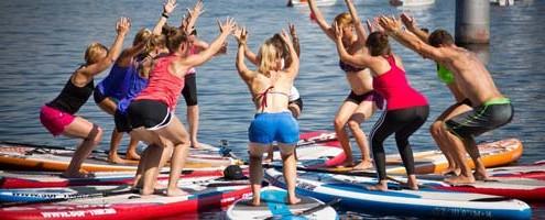 Yoga und Stand Up Paddling verbinden wir