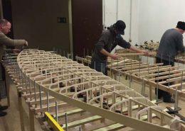 Unsere Kunden beim Aufbau ihrer Holz SUP Boards