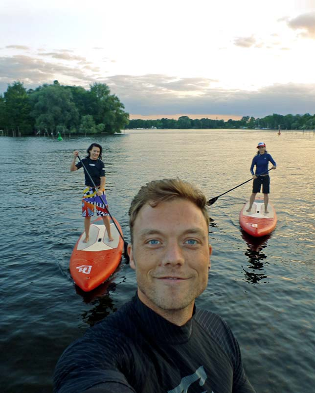 Stand Up Paddling mit SUP TRIP in Potsdam