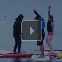 Stand Up Paddling Yoga - Bericht bei Potsdam.TV