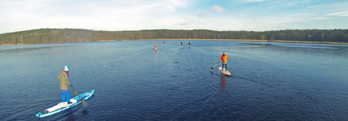 SUP TRIP -Stand Up Paddling Schule in Potsdam und Berlin
