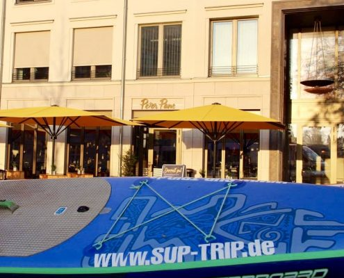 SUP'n'Eat Tour: Kooperation zwischen SUP TRIP und Peter Pane